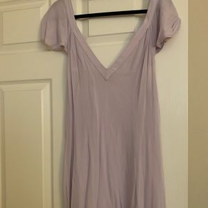 Altard state lilac mini dress